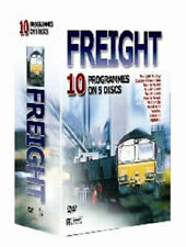 10 Pack - Rail Freight Today Train 5 DVD's (NEW) UK