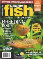 Aquarium Fish International Magazine Breeding Freshwater Nests Marine Invert