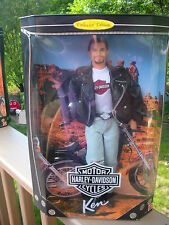 "Mattel, ,""Ken"" Harley Davidson Motor Cycles - Barbie Collectables New In Box"