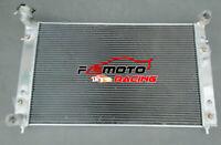 3ROW Aluminium Radiator Holden Commodore VT VU VX HSV 3.8L V6 Twin oil cooler AT