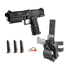 Tippmann TiPX Deluxe Paintball Gun Pistol Kit - Black - New in Box