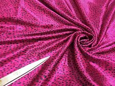*NEW*L/Weight Liquid Satin Abstract African Print  Dress/Craft Fabric*FREE P&P*