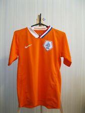 BOYS Netherlands 2008/2009/2010 home Sz L Nederland Holland shirt jersey soccer