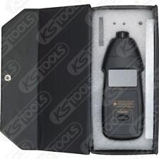 KS TOOLS Fotoelektronischer Drehzahlmesser DT2234B Laser 455.0130 Digital Tacho