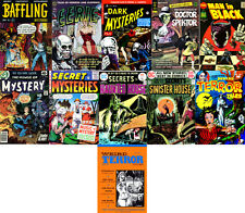 230 Issues Golden Age Horror Comics on DVD – D1