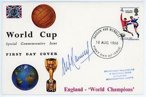 GB 1966 Sir ALF RAMSEY Signed World Cup England Winners FDC, Scarce!