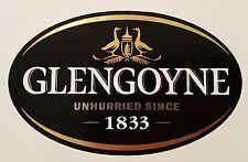 Glengoyne scotch whisky sticker.