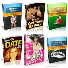 Dating Help Niche - Six (6) Ebooks - PDF - BONUS EBOOK - Find Your Partner Now