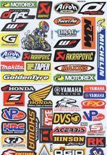 4 Mixed Sheets Sticker Decal Car ATV Bike Racing Helmet Motorcross Dirt BMX #2
