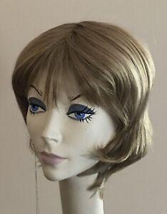 NWT! JACQUELYN Wig HUMAN HAIR Blend BONNIE 24-14-12B BLONDE Mix • Monotop