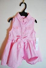 DKNY Pink Collared Dress - NWT - Sz 4T