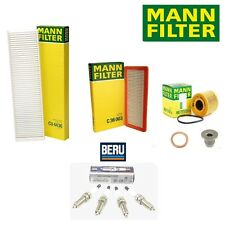 Mini Cooper R55 R56 R57 R58 Tune Up Air Oil Cabin Air Filter with Spark Plugs