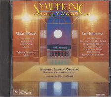 Symphonic Hollywood - Miklos Rozsa / Lee Holdridge (CD, Varese Sarabande, 1991)