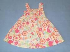 Gorgeous Little Girls Shirred Summer Dress, Size 0