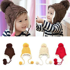 ab6852acb7b Unisex Knitted Baby Hats
