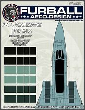1/48 Furball F-14 Walkway Decals for the Hasegawa Kit