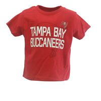 Tampa Bay Buccaneers Official NFL Team Apparel Infant Toddler Size T-Shirt New
