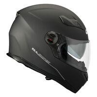 GIVI CASCO INTEGRALE FULL FACE SNIPER 50.4 NERO OPACO MOTO SCOOTER HELMET BLACK