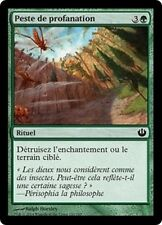 MTG Magic JOU FOIL - Desecration Plague/Peste de profanation, French/VF