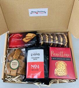 LUXURY CHRISTMAS COFFEE/FOOD GIFT HAMPER BOX SET MUM NAN DAD GRANDAD FRIEND