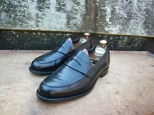CROCKETT & JONES LOAFERS MEN'S SHOES – BLACK – UK 7.5 – EXCELLENT CONDITION