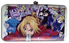 Fullmetal Alchemist Group Checkbook Hinge Wallet Licensed Anime NEW