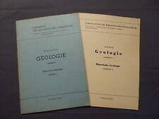 Ludwig / Borger, Historische Geologie, 2 Lehrbriefe, Senftenberg / Zwickau 1956