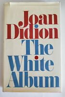 The White Album by Joan Didion, 1st Edition 1979, Hardcover