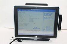 """Hp Ap5000 Pos 15"""" Xga Touch Celeron 440 2Gb 160Gb w/ Rear Display & Card Reader"""