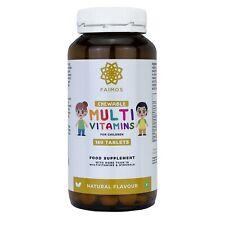 Childrens Complete Multivitamins & Minerals Formula - 180 Chewable Tablets - 4+