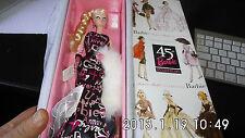 barbie poupée fashion model-45e anniversaire - vintage