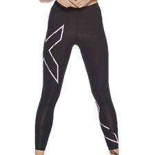 2XU, женское Mcs запустить компрессионные колготки для занятия низ штаны брюки черный розовый спортивный