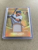 2017 GOLD STANDARD AARON JUDGE #NMM-AJ NEWLY MINTED /99 JERSEY YANKEES