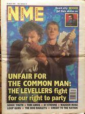 NME 30/4/94 The Levellers cover, Sonic Youth, Senser, Saint Etienne, Loop Guru
