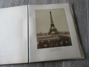 Exposition universelle 1889. Album de 11 photographies