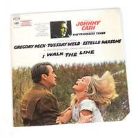 Johnny Cash I Walk the Line Soundtrack Vinyl LP (LSP 4530) 1971 with Shrink