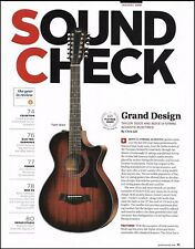 The Taylor 362 CE 12-String & 352CE guitar 8 x 11 soundcheck review article