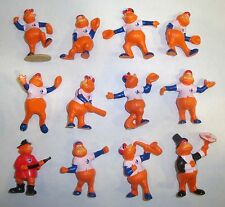 SBS Set complet 12 figurines PVC MONTREAL EXPOS YOUPEE 1985 Gagnon type Schleich