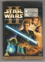 (GU781) Star Wars Attack Of The Clones - 2002 DVD