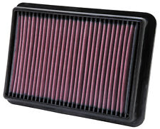 K&N HIGH FLOW AIR FILTER Fits NISSAN NAVARA 2.5 DIESEL 2005-11 33-2980