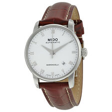 Mido Baroncelli Stainless Steel Mens Watch M8600.4.26.8
