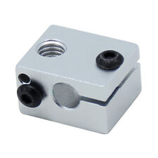 Aluminium Alloy V6 Heat Block For V5 V6 J-head Extruder HotEnd 3D Printers M9Y6