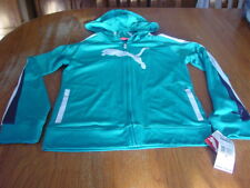 Girls XL (14)  PUMA  Zip Up Active  Hooded Jacket    NWT