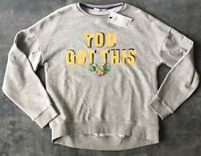 Marks and Spencer Girls Grey You Got This Sweatshirt Size 14-15 Years