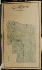 Illinois Putnum County Map Granville Township 1911 Dbl Pg J12#53
