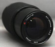 Pentax K Tokina 80-200mm f/4.5 ZOOM MACRO Lens Japan