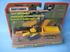 Matchbox caterpillar cat challenger avec remorque champ shaper farm farming set