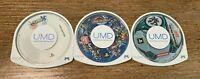 PSP Bundle 3 Games (Japan Imports) Final Fantasy, Winning Eleven, Gundam