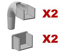 More details for 20mm x 15mm small greenhouse gutter outlets & blanking ends