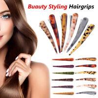 Salon Hair Clips Women Girl Buauty Styling Barrettes Acrylic Duck Bill Clips